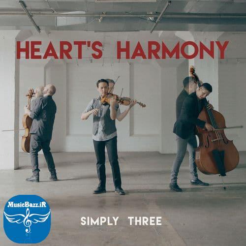 دانلود موزیک ویدئوی جدید گروه سه نفره ی Simply Three با نام Heart's Harmony