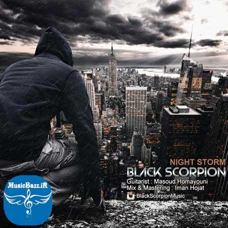 دانلود آهنگ جدیدBlack Scorpionبه نامNight Storm