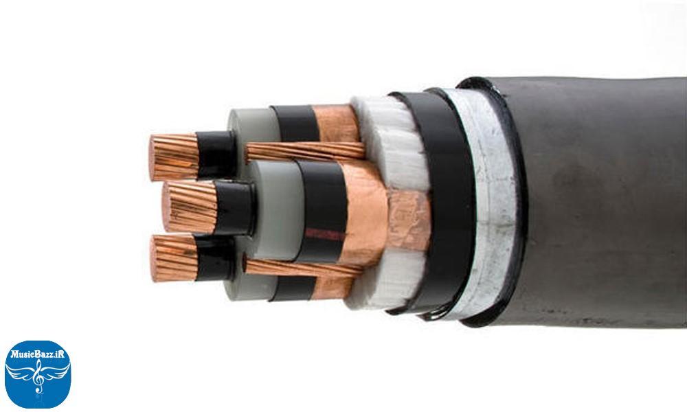 لوله برای کابل برق